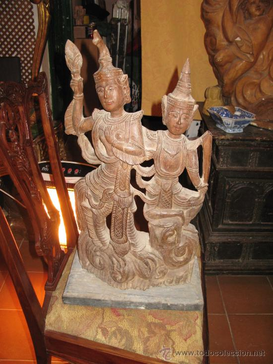 talla antigua dioses tailandeses comprar esculturas de