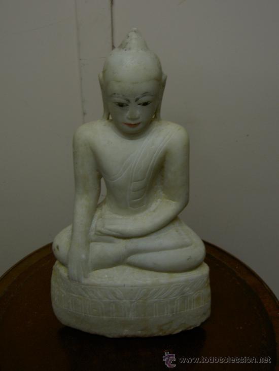 Arte: Buda alabastro XVIII - Foto 4 - 28525830