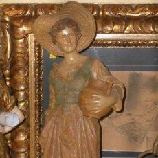 Arte: MONUMENTAL TERRACOTA 66 CMS GOLDSCHEIDER ESCULTURA EPOCA ART NOUVEAU MODERNISTA. Lote 24662011