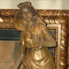 Arte: MONUMENTAL E IMPECABLE TERRACOTA 75 CMS GOLDSCHEIDER. Lote 24662589