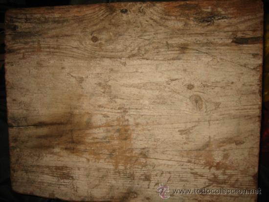 Escultura sobre base de madera antigua desconoz comprar for Aberturas antiguas de madera