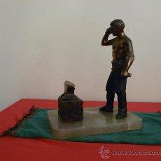 Arte: ESCULTURA EN BRONCE (HERRERO DE MAZARIEGOS). Lote 27475096