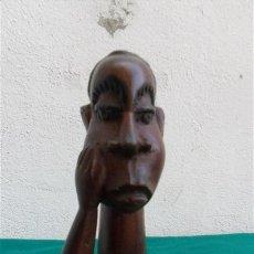 Arte: TALLA DE MADERA AFRICANA. Lote 28333252
