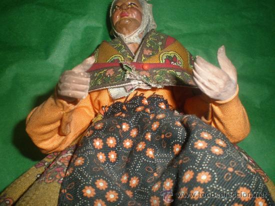Arte: mujer de tarracota vestida - Foto 7 - 28494968