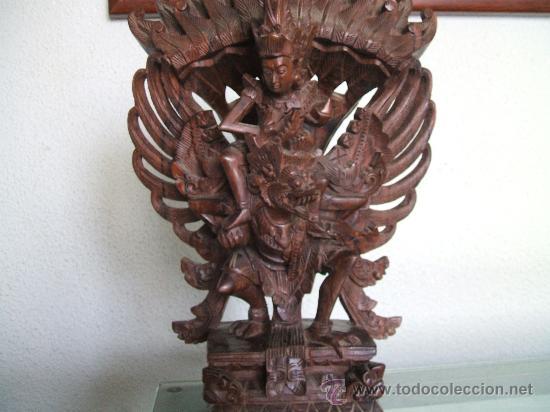 GARUDA DE INDONESIA DE EBANO (Arte - Escultura - Madera)