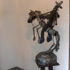 Arte: ESCULTURA DE GUERRERO, PÀNCHO VILLA,. Lote 30091852