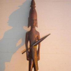 Arte: TALLA DE FIGURA AFRICANA. Lote 30095469