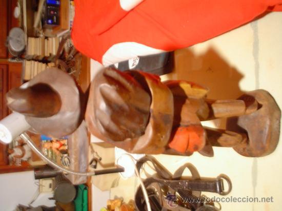 Arte: Anciano tallado en madera - Foto 5 - 30432605