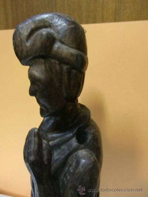 Arte: Figura de hombre tallada en madera - Foto 3 - 31147308