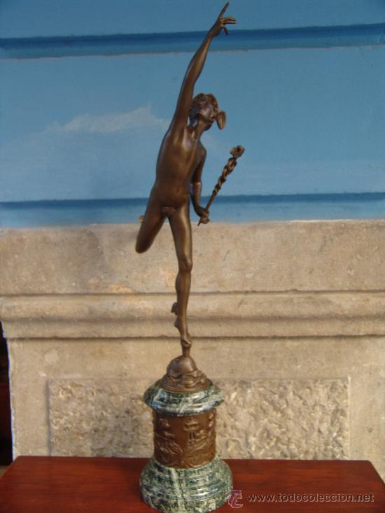Arte: PAREJA DE BRONCES:VENUS Y MERCURIO - Foto 6 - 32059999