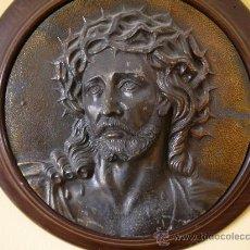 Arte: RELIEVE EN BRONCE DE JESUCRISTO NUESTRO SEÑOR. Lote 37304005