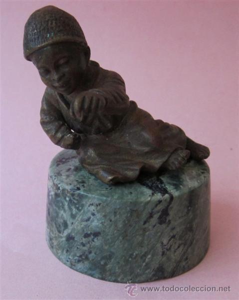 MINIATURA DE BRONCE ES BRONCE VIENES - EUROPEO (Arte - Escultura - Bronce)