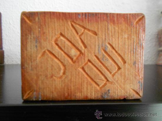 Arte: talla de madera -Cristo de madera con orbe- - Foto 2 - 35155891