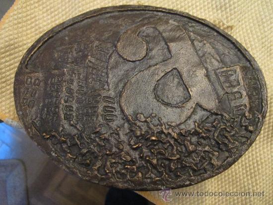 ESCULTURA EN BRONCE - A - SIN FIRMAR. MEDIDA 15 X 12 CM. (Arte - Escultura - Bronce)