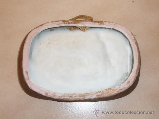Arte: Precioso biscuit de porcelana de tematica taurina, con toro, años 20 - Foto 3 - 36189876