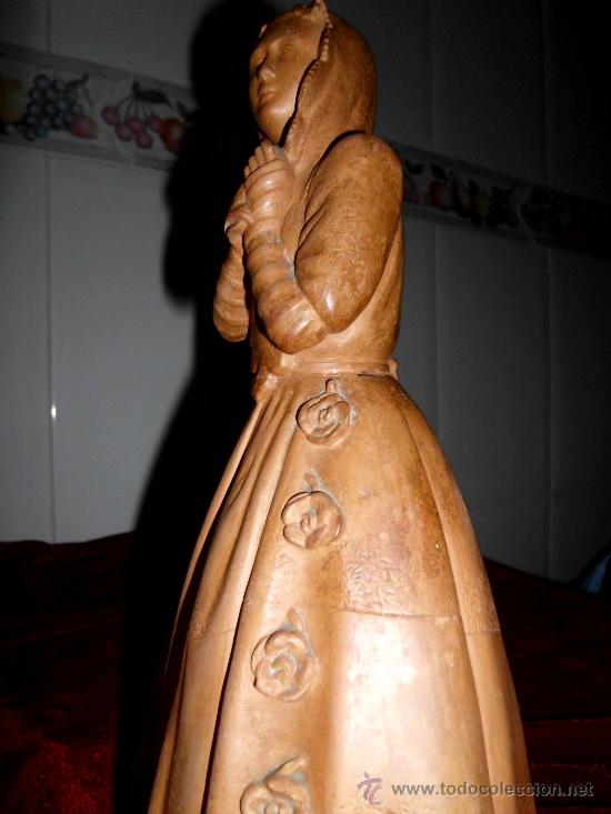 Arte: Antigua escultura de Dama Victoriana en terracota - Foto 5 - 37436912