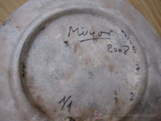 Arte: Bodegón bronce manzana en plato Rafael Muyor - Foto 3 - 38176649