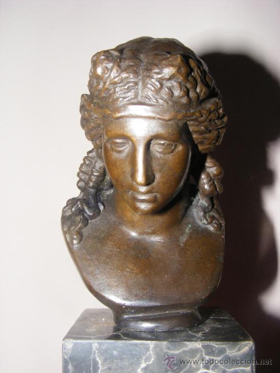 ESCULTURA DAMA EN BRONCE (Arte - Escultura - Bronce)