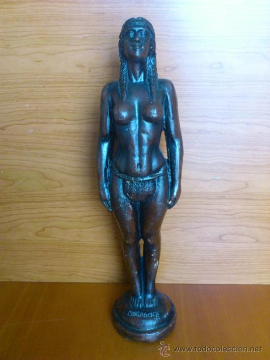 ESCULTURA EN TERRACOTA, HECHA EN CARTAGENA DE INDIAS . (Arte - Escultura - Terracota )