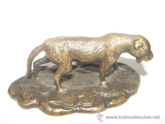 Arte: IMPORTANTE Y ANTIGUA FIGURITA DE BRONCE.....TIFFANTSTUDIOS......NEW YORK. - Foto 1 - 38535664
