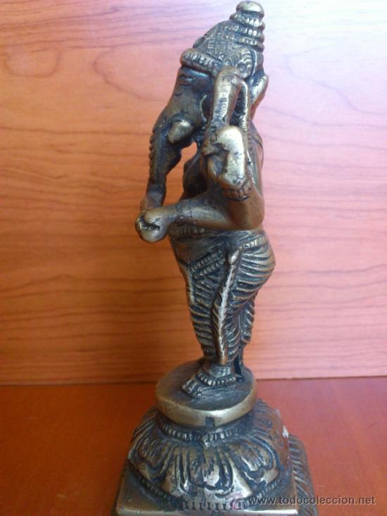 Arte: Escultura antigua en bronce DIOSA GANESHA - Foto 11 - 38578693