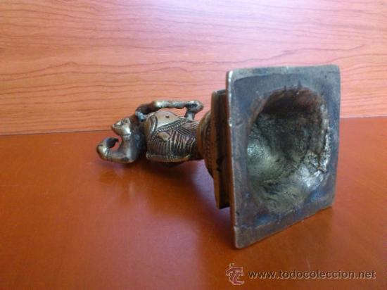 Arte: Escultura antigua en bronce DIOSA GANESHA - Foto 15 - 38578693