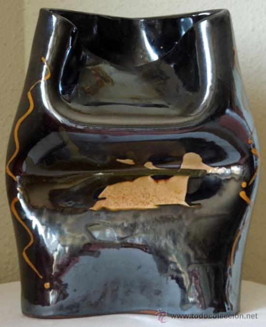 Arte: Escultura cerámica de estilizadas formas, suaves contornos y excelente colorido Con firma de autor - Foto 2 - 38616552