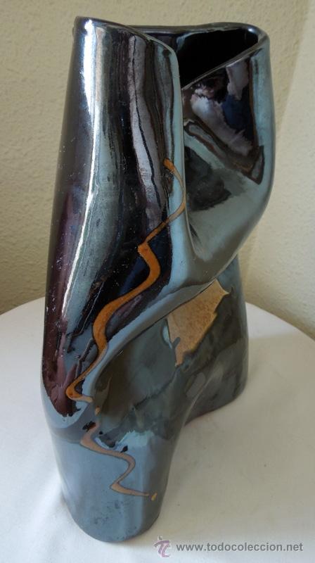 Arte: Escultura cerámica de estilizadas formas, suaves contornos y excelente colorido Con firma de autor - Foto 5 - 38616552
