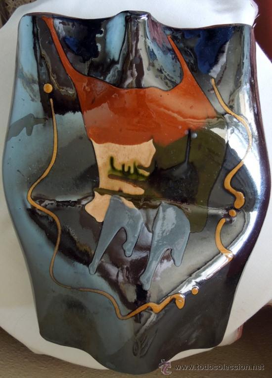 Arte: Escultura cerámica de estilizadas formas, suaves contornos y excelente colorido Con firma de autor - Foto 8 - 38616552