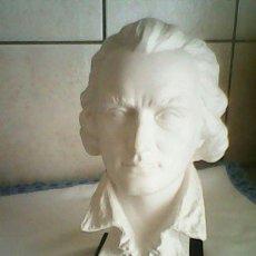 Arte: PRECIOSO BUSTO CHILLER,FRIEDRICH SCHILLER HECHO EN BISCUIT M.W GERMANY 1759-1805, GOEBEL. Lote 47389540
