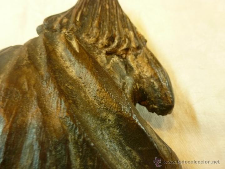 Arte: antigua talla de madera santo - Foto 3 - 39633293