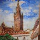 Arte: BELLÍSIMA TALLA IMAGEN EN RELIEVE POLICROMADA PINTURA OLEO DE LA GIRALDA DE SEVILLA AÑO 1992 FIRMADA. Lote 40303003