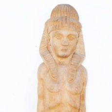 Arte: GRAN TALLA ANTIGUA MADERA TUTAN KAMON EGIPTO DECORACION EGIPCIA VINTAGE. Lote 40651301