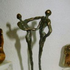 Arte: CORRY AMMERLAAN VAN NIEKERK, ESCULTURA EN BRONCE FIRMADA. Lote 41627154