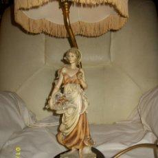 Arte: LAMPARA ORIGINAL DE PORCELANA GIUSEPPE ARMANI FLORENCE. Lote 42609416