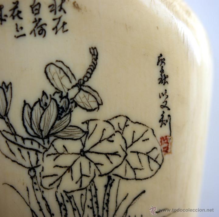 Arte: TABAQUERA CHINA PARA RAPÉ - S. XIX - Foto 9 - 42957975