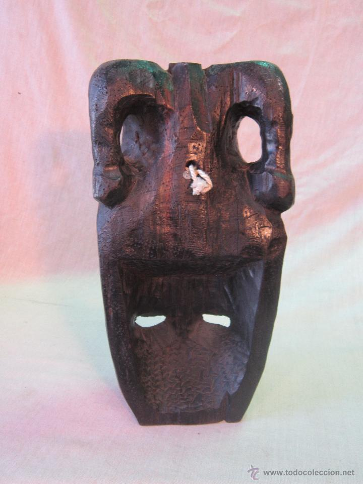 Arte: busto africano TALLA EN MADERA - Foto 2 - 44123545