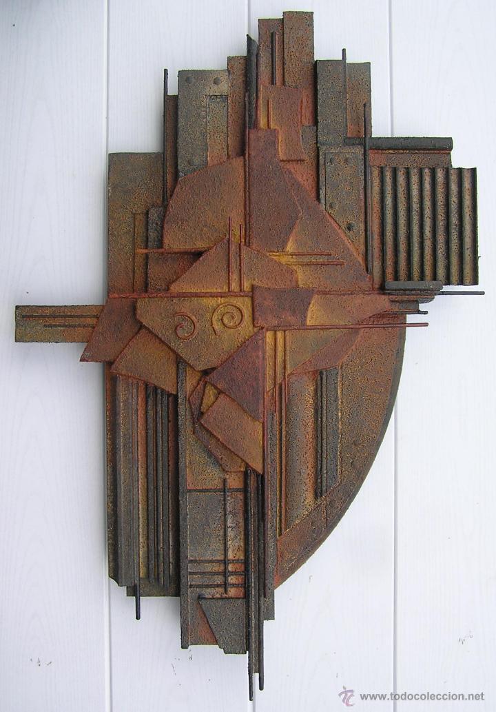 Exclusiva escultura abstracta autor jose san comprar - Esculturas de madera abstractas ...