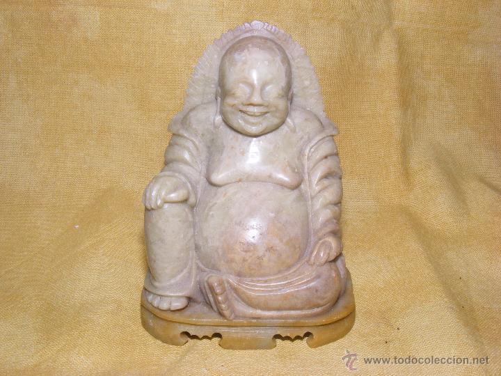 BUDA DE JADE (Arte - Escultura - Piedra)