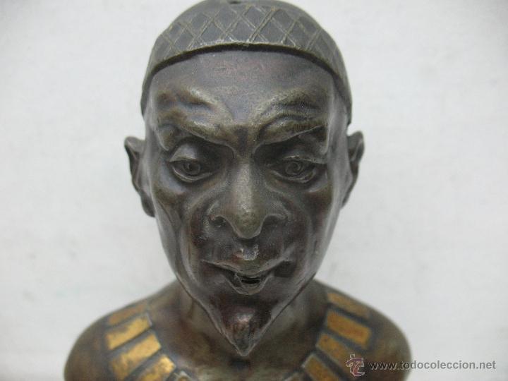 Arte: Busto Egipcio en Bronce - Foto 2 - 44927845