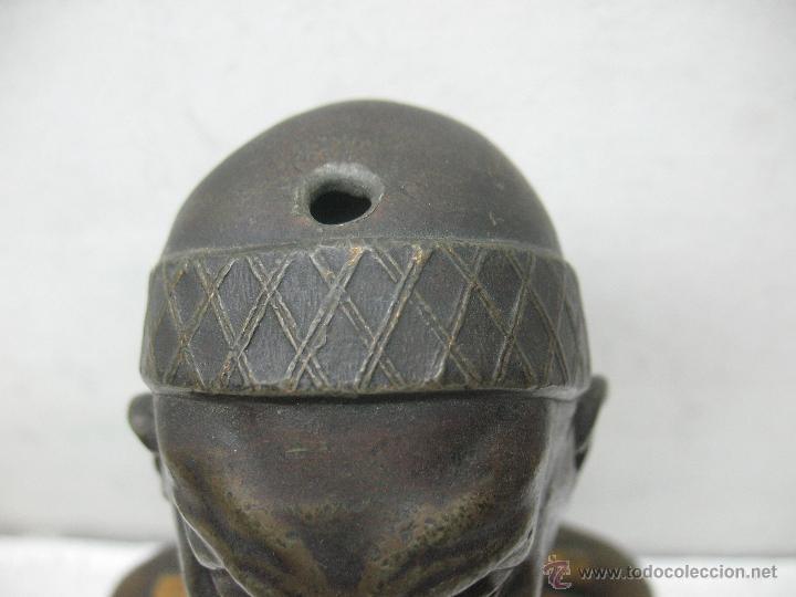 Arte: Busto Egipcio en Bronce - Foto 3 - 44927845