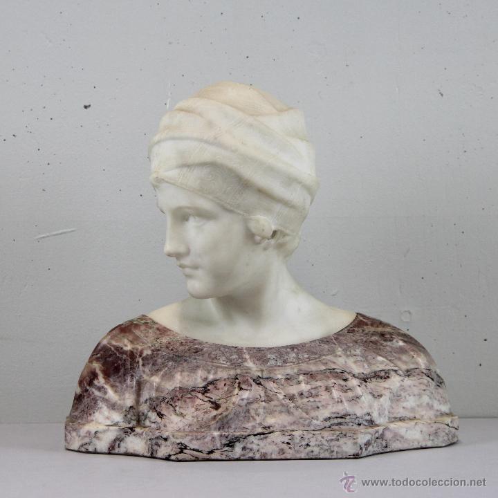 ESCULTURA ART NOUVEAU DE GIUGELMO PUGI (1875-1935) (Arte - Escultura - Piedra)