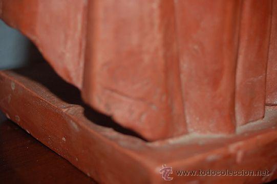Arte: Figura de terracota QUERA, siglo XX - Foto 5 - 45569493