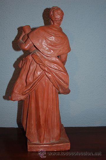 Arte: Figura de terracota QUERA, siglo XX - Foto 8 - 45569493
