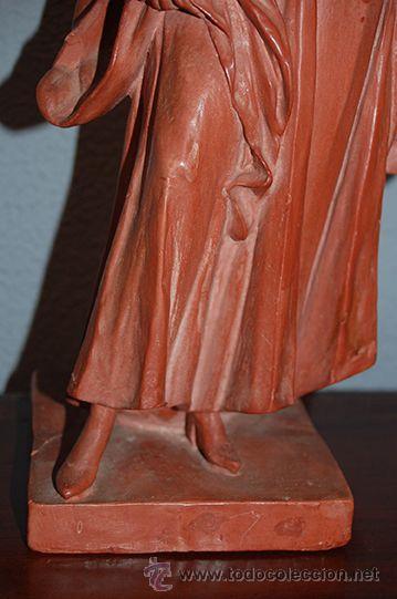 Arte: Figura de terracota QUERA, siglo XX - Foto 10 - 45569493