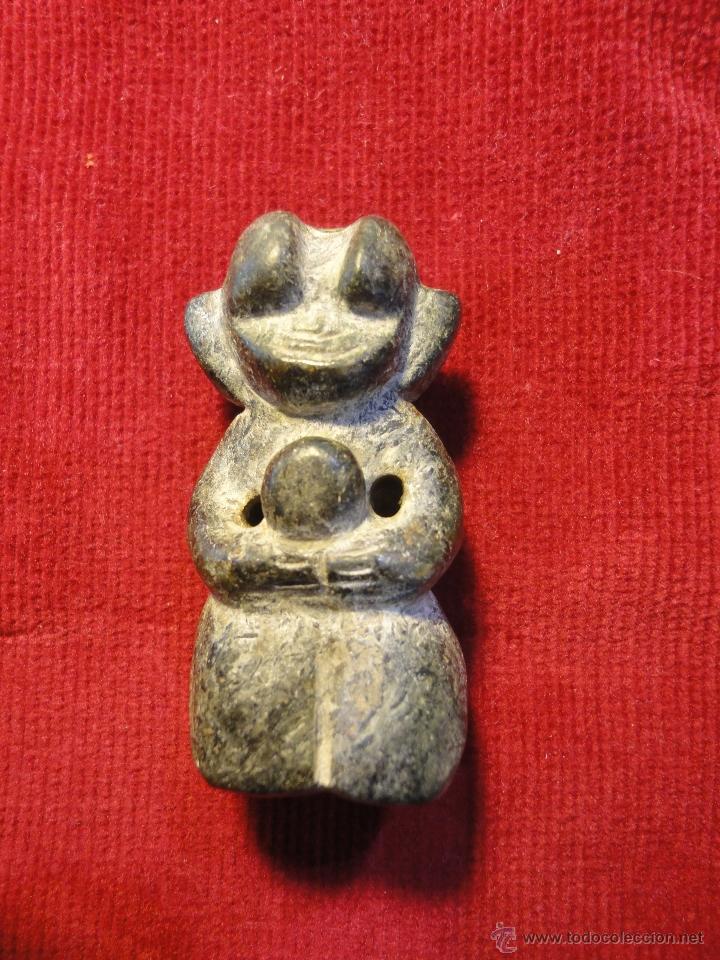 NETSUKE DE MINERAL (Arte - Escultura - Piedra)