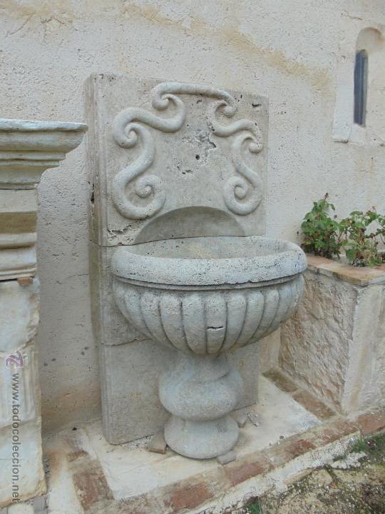 Fuente de piedra de olivillo comprar esculturas de piedra antiguas en todocoleccion 46327225 - Fuentes de piedra antiguas ...