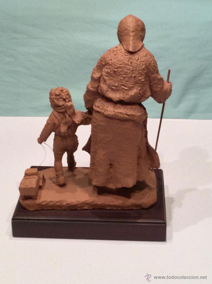 Arte: JOSEP BOFILL , escultura anciana con niño - Foto 2 - 46475518