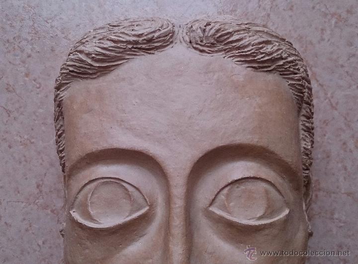 Arte: Cabeza antigua de gran tamaño ( cabeza de cristo ) . - Foto 6 - 46634954