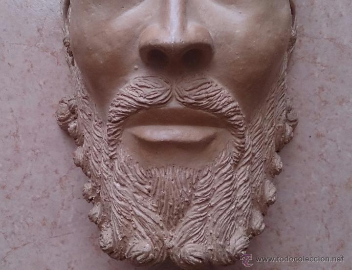 Arte: Cabeza antigua de gran tamaño ( cabeza de cristo ) . - Foto 7 - 46634954